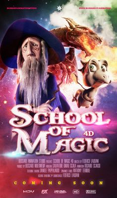 School of Magic - Coming Soon - Poster
