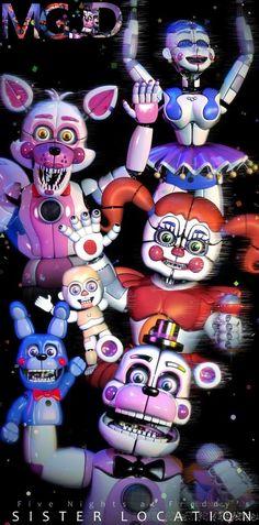 FNAF SL Pack - Character Poster by jorjimodels on DeviantArt Five Nights At Freddy's, Sister Location Baby, Ballora Fnaf, Fnaf Baby, Scary Games, Fnaf Wallpapers, Fnaf Characters, Girls Characters, Funtime Foxy