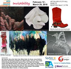 InvisAbility, Art in City Hall Gallery #InvisAbility #ArtInCityHall #Philadelphia #art #artists #gallery