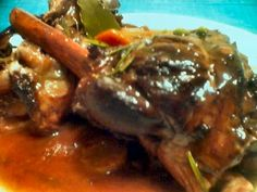 Slow Cooked Lamb Shanks in Red Wine