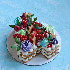 Очередная циферка 2️⃣9️⃣ Каждый торт неповторимый и только для Вас❤️ ————————————————-#тортмосква #торт #тортик #тортыназаказ… Cake Lettering, Biscuit Cake, Birthday Cupcakes, Tarts, Panna Cotta, Biscuits, Ethnic Recipes, Desserts, Food