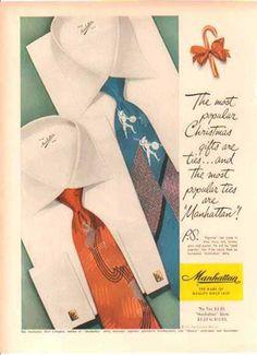 1940's neckties