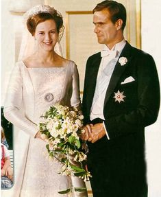 Wedding of Queen Margrethe of Denmark and Prince Consort, Henrik