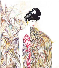 Ilustración del ilustrador Cruz Mart?nez de la Agencia de Ilustración Luisannet: www.luisan.net/ilustracion.php