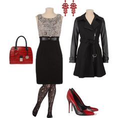 A fashion look from November 2013 featuring Alexander McQueen pumps, Carlo Pazolini handbags and Fenton earrings. Browse and shop related looks.