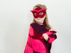Little owlette costume inspired by the PJ Masks. For toddlers, pre-schoolers. and young children. Owlette dress up costume for kids.