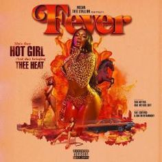 "On her climb to the top of being one of the hottest female artists in the game today, Megan Thee Stallion get set to drop her debut project ""Fever"", dropping May 17th. Rap Album Covers, Iconic Album Covers, Music Covers, Box Covers, Hip Hop Songs, Rap Songs, Album Songs, Bedroom Wall Collage, Photo Wall Collage"