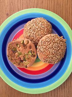 Sesame and Pistachio Cookies