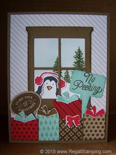 No Peeking, I've got my eye on you! by sanitystamper - Cards and Paper Crafts at Splitcoaststampers