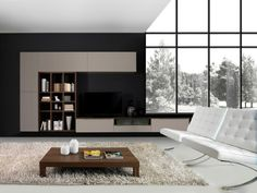 Cheap Home Decorating Ideas Code: 4089491661 Living Room Wall Units, Living Room Cabinets, New Living Room, Living Room Interior, Home Interior, Living Room Designs, Interior Architecture, Interior Design, Muebles Living