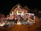 Decoration : Christmas Lights Year Round With Fence Christmas Lights Year Round Diy Christmas Decorations' Christmas Decorations Ideas' Christmas Decoration plus Decorations Large Outdoor Christmas Decorations, Mesh Christmas Tree, Best Christmas Lights, Christmas Light Displays, Decoration Christmas, Xmas Lights, Decorating With Christmas Lights, Holiday Lights, Christmas Love