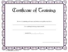 free printable training certificate templates best photos workshop template agenda best free home design idea inspiration - Dog Show Certificate Template