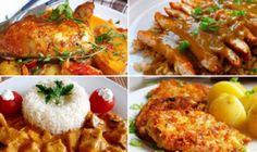 12 skvělých receptů, díky kterým už budete vědět co navařit na neděli! Borscht Soup, Sour Cream Sauce, Appetizer Plates, Seafood Dishes, Tasty Dishes, Tandoori Chicken, Food Videos, Main Dishes, Vitamins