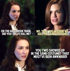 Pretty Little Liars-Spencer and Melissa