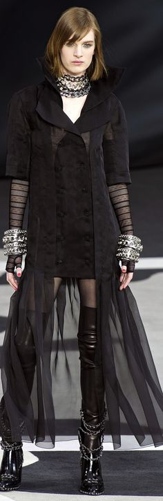 ALL 2013 READY-TO-WEAR Chanel (HB) - love everything but the clunky, uncomfortable & cheap-looking bracelets.