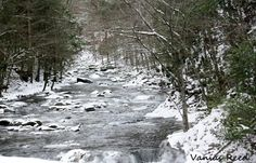Winter River by Mrs.vaniasreed