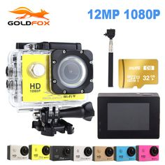 Goldfox Action Camera 1080P Full HD 30M Action Camera Go Waterproof Pro Sport DV Bike Helmet Car Cam Car Dvr With Retail Packing |  Buy online Goldfox Action Camera 1080P Full HD 30M Action Camera Go waterproof pro Sport DV Bike helmet Car Cam Car Dvr With Retail Packing only US $42.59 US $31.94. This shopping online sellers provide the information of finest and low cost which integrated super save shipping for Goldfox Action Camera 1080P Full HD 30M Action Camera Go waterproof pro Sport DV…