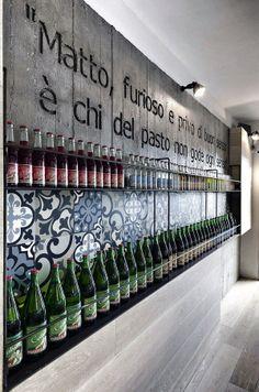 Foto pinnata dalla nostra lettrice di CAFElab. Coffee Break   The Italian Way of Design: Oriente e occidente a tavola a Roma