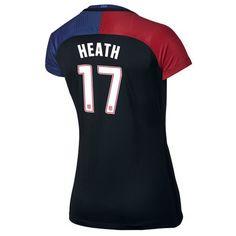 2016 Away Tobin Heath Jersey USA Women's Soccer #17 - Black