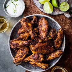 Berbere chicken wings
