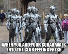 Cybermen know how to make an entrance on Doctor Who