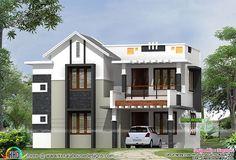 1800sqft Mixed Roof Kerala House Design Kerala House Plans Homes