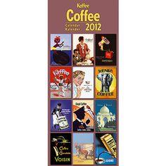 Coffee 2012 Vertical Wall Calendar