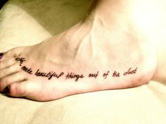 placement and font #tattoo