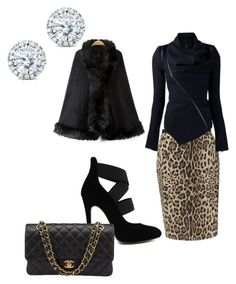 """""""Untitled #38"""" by rhonda-kerl on Polyvore featuring Precis Petite, Kobelli and Chanel"""