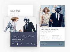 With Paper Plane you can book travel experiences based on your music taste. Login with Spotify, match your playlists with travel destinations and book a trip like never before. Grab the. Music App, Your Music, Plane Design, Ui Design, Electronic News, Long Shadow, Daft Punk, Living In New York, Instagram Posts