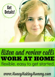 If you're looking for extra cash and like the idea of working whenever you like - this might be a good fit. You'll be listening and reviewing calls to correctly categorize them. Get all the details and how to get started by reading this post at MoneyMakingMommy.com.