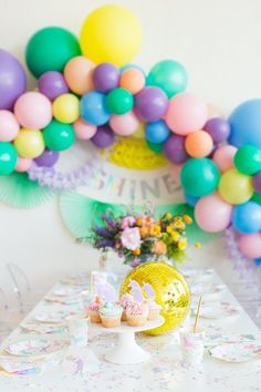 whimsical unicorn party