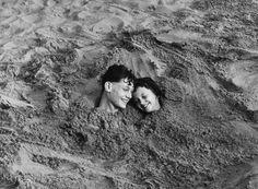 Lou Bernstein,Coney Island, 1951.