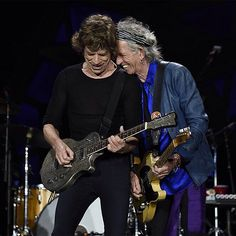 The Rolling Stones. Keith Richards & Mick Jagger