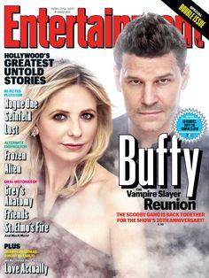 The Scooby Gang is BACK! #BuffySlays20 #BuffyReunion