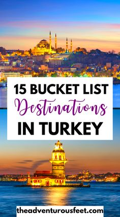 Traveling to Turkey? Here are the most beautiful places to visit.| best places to visit in Turkey|best places in Turkey| best places to travel in Turkey| best places to see in Turkey| best places to go in Turkey| beautiful places in turkey| things to do in turkey| bucket list places in turkey| tourist attractions in Turkey |Best cities in Turkey| Best cities to visit in a Turkey | where to go in Turkey|places to visit in turkey | |bucket list destinations in Turkey #theadventurousfeet World Travel Guide, Europe Travel Guide, Asia Travel, Beautiful Places To Visit, Cool Places To Visit, Places To Go, Bucket List Destinations, Travel Destinations, Travel Ideas