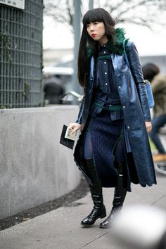 Pin for Later: The Best Street Style Looks From Milan Fashion Week Day 4 Susie Lau