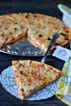 Быстрая пицца на кефире