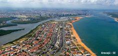 Aracaju vista aérea | Localização de referência bairro Coroa do Meio
