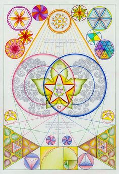 "Book of Shadows:  ""Sacred Geometry,"" by Gill Rippingale."