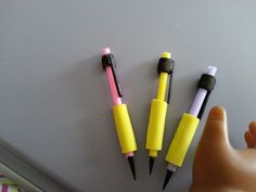 American Girl Doll Crafts and Fun!: Back to School Series Craft #2 Doll Mechanical Pencils