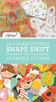 The Sweet Sugarbelle Shape Shifter Cookie Decorating Set – The Sweet Adventures of Sugar Belle