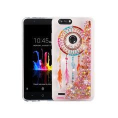 Z982 Zmax Pro 2 Case Transparent Tpu Cover Dynamic Liquid Glitter Sand 3d Stars Anti-knock Case Volume Large Lower Price with For Zte Blade Z Max