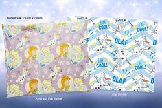 Disney's Frozen Fleece Blanket - 2 Designs!