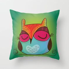 Shop Maria Jose Da Luz's store featuring unique designs on various products across art prints, tech accessories, apparels, and home decor goods. Owl Home Decor, Room Decor, Maria Jose, Owl House, Beautiful Babies, Textile Design, Home Accessories, Throw Pillows, Illustration