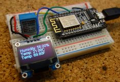 This post shows how to use the 0.96 inch OLED display with the ESP8266 using the Arduino IDE.
