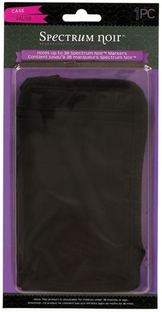 Spectrum Noir 36 Pen Zipper Bag --- These seem to be the most inexpensive way to store the Spectrum Noir art markers.