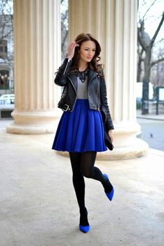 I love this pop of blue!