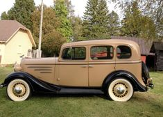 1935 Chevrolet Standard with Original style mohair interior and great paint comb