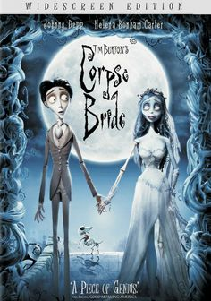 Tim Burton's Corpse Bride - A twisted love story from the mind of Tim Burton. On his way to meet his bride-to-be, a young man named Victor (voiced by Johnny Depp) unwittingly puts a ring on a dead woman's hand and jokingly recites the vows. When a zombie bride appears, she insists Victor isnow her husband.